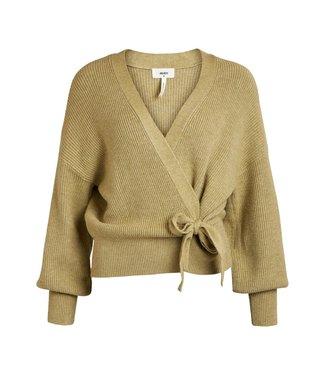 Object OBJVIOLETTA Knit Cardigan - Khaki