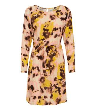 ICHI IHVAUNA Dress 2 - Super Lemon