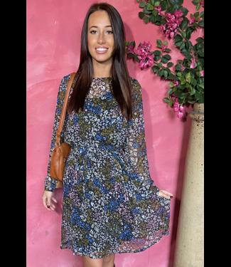 ICHI IHBETTY Dress - Riviera