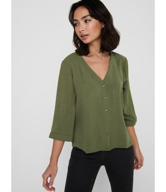 JACQUELINE de YONG JDYCAPOTE 3/4 Shirt - Kalamate