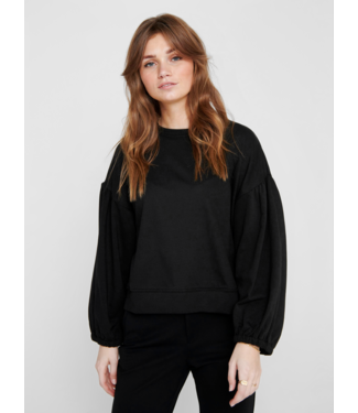 JACQUELINE de YONG JDYMAYWOOD Ivy Sweat - Black