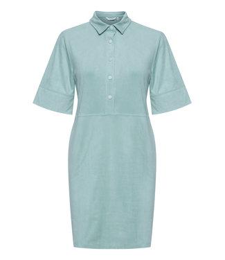 b.young BYREGIZA Placket Dress - Blue Surf