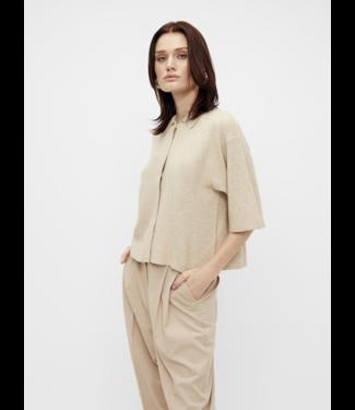 Object OBJDARMA Knit Cardigan - Sandshell
