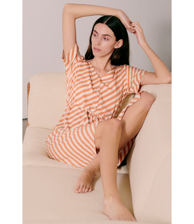 IHIMARA Dress - Caramel
