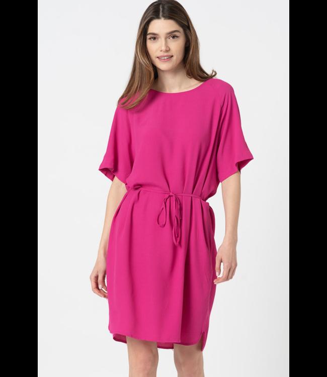 IHAMANDA Dress - Fuchsia Red