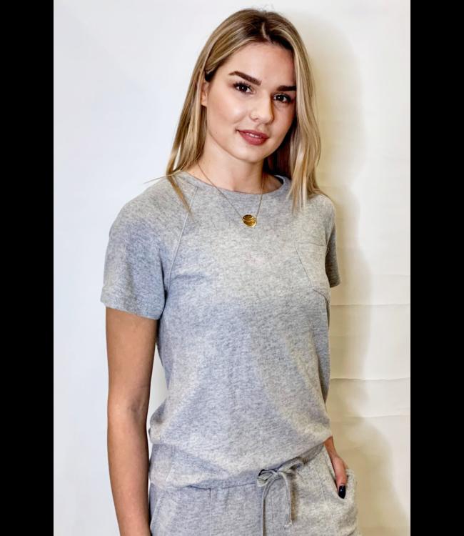 IHYOSE t-shirt - Grey Melange