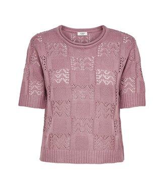 JACQUELINE de YONG JDYSOFIA knit t-shirt - Nostalgia