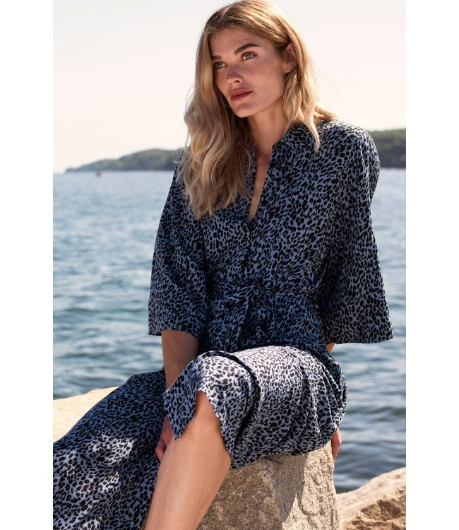 KAbarbara Dress - Quiet Harbour / Blue Tone