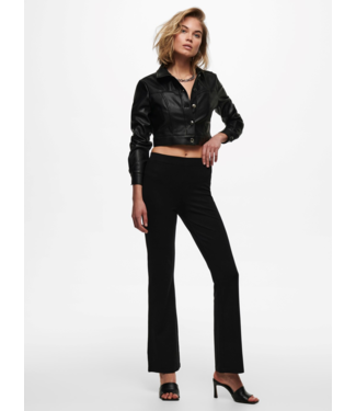 JACQUELINE de YONG JDYPRETTY Flare Pant NOOS - Black