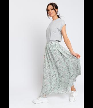 Rut&Circle Sienna Maxi Skirt - Dusty Mint Flower
