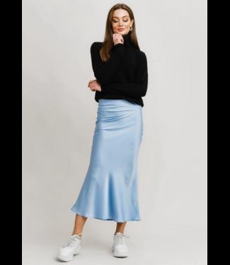 Rut&Circle Tanya Skirt - Mid Blue