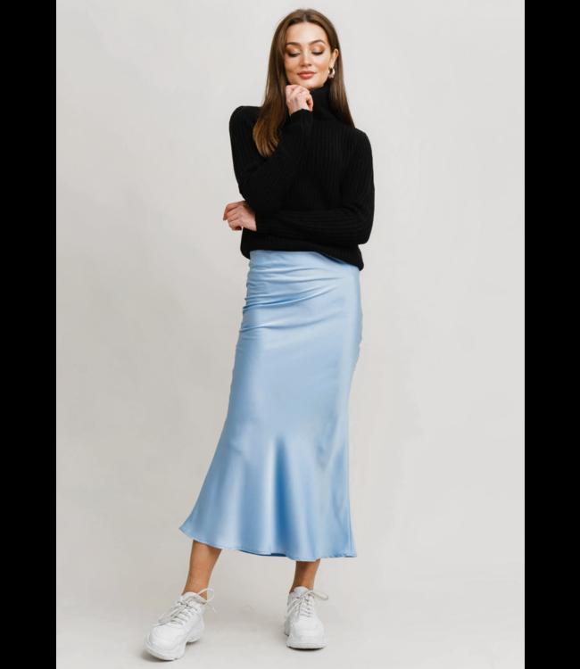Tanya Skirt - Mid Blue