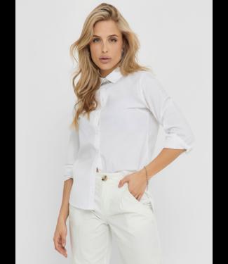 JACQUELINE de YONG JDYMIO Shirt NOOS - White