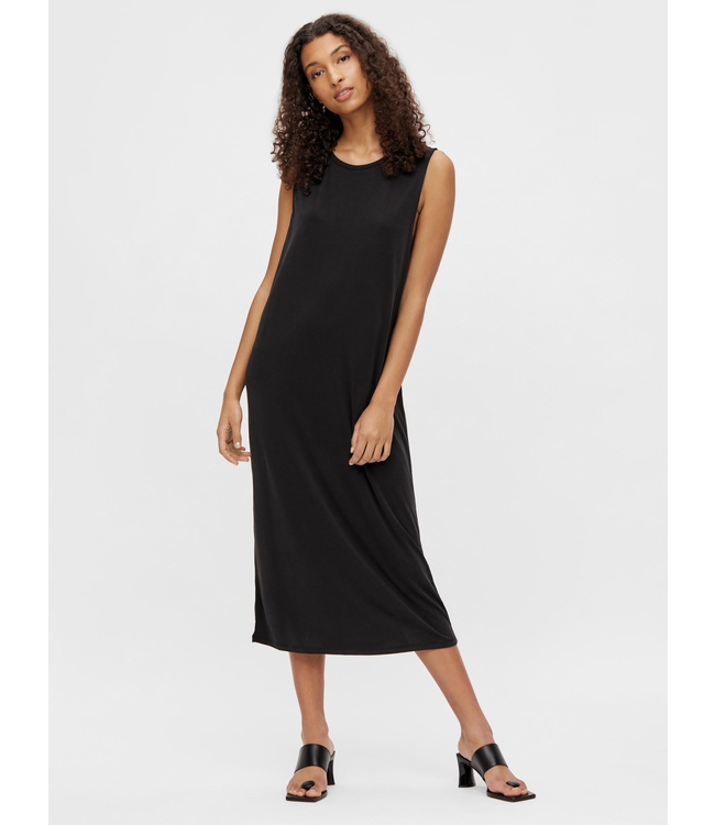OBJANNIE Dress NOOS - Black