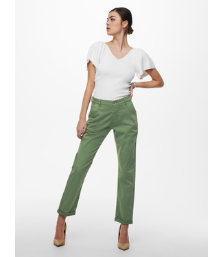 JACQUELINE de YONG JDYDAKOTA Life Chino Pants - Sea Spray
