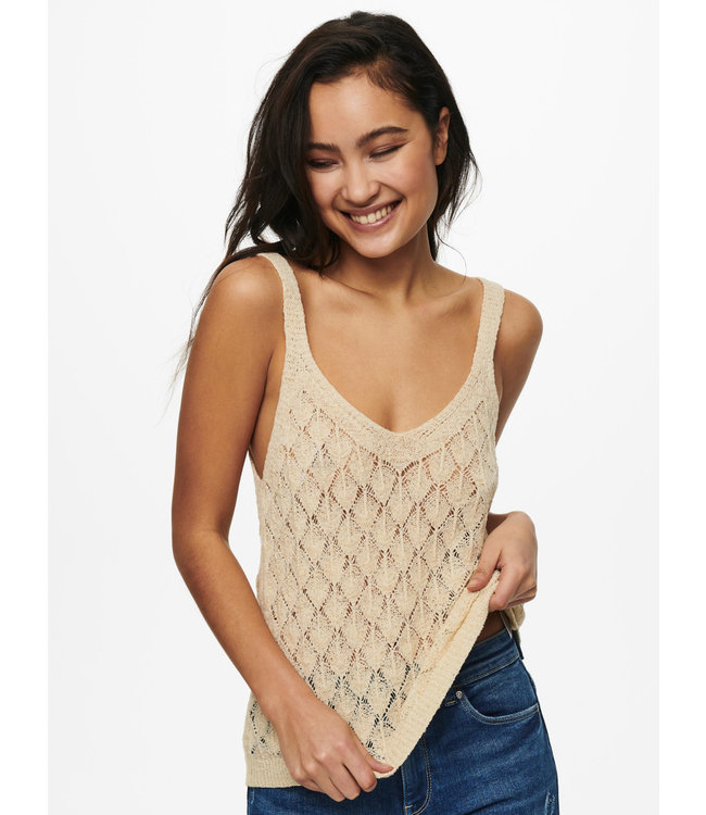 JDYDESHA Knit Top - Angora