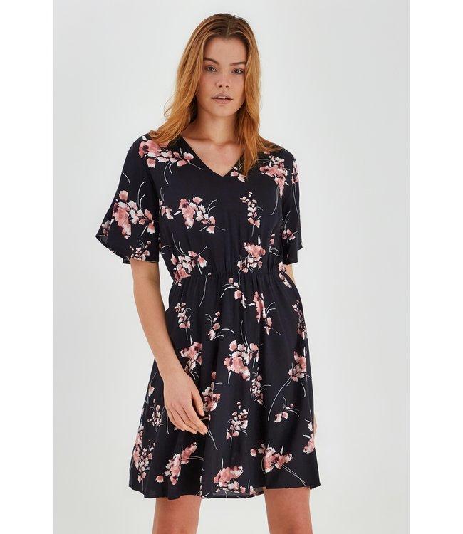 BYMMJOELLA SS Dress - Black Mix