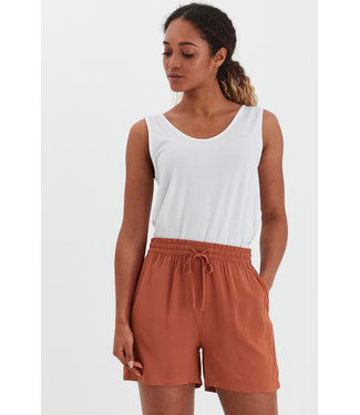 b.young BYMMJOELLA Shorts - Etruscan Red