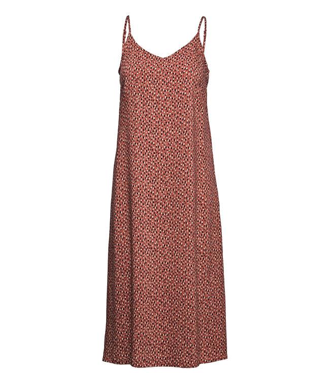 BYMMJOELLA Slip Dress - Etruscan Red Mix