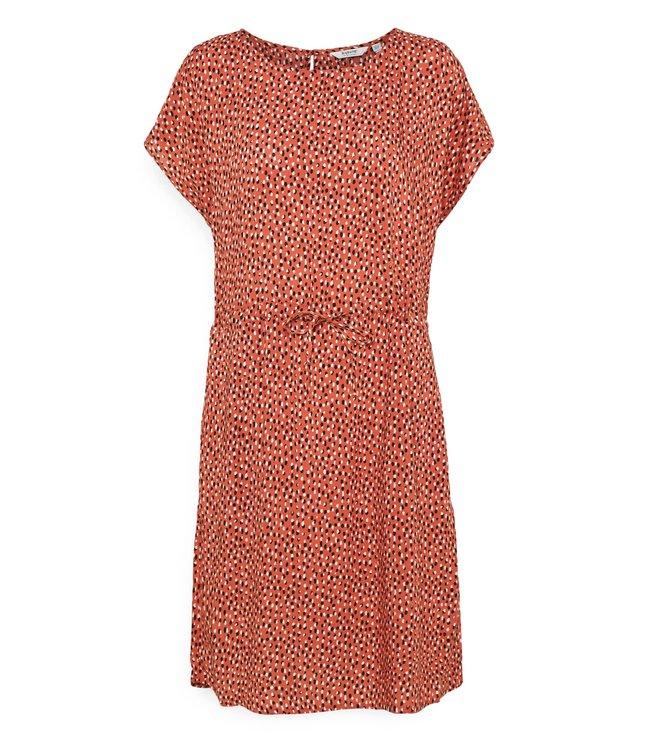 BYMMJOELLA O-Neck Dress - Etruscan Red Mix
