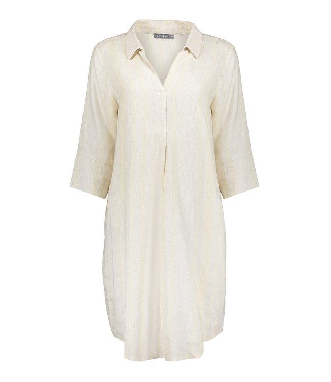 Dress 17114 - Sand/Gold Combi