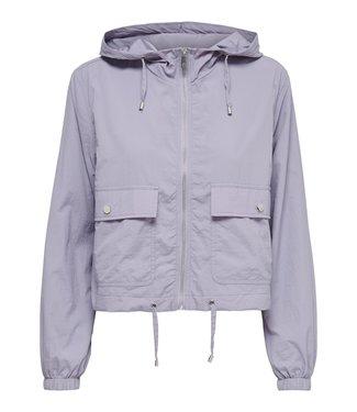 JACQUELINE de YONG JDYANNI Short Jacket - Lavender Gray