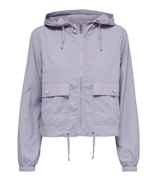 JDYANNI Short Jacket - Lavender Gray