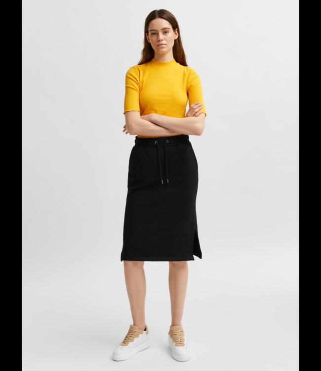 SLFRISMA Midi Skirt B - Black