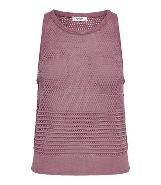 JACQUELINE de YONG JDYLEXA Knit Tank Top - Wistful Mauve