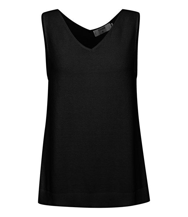 CRSILLAR Knit Top BCI - Pitch Black