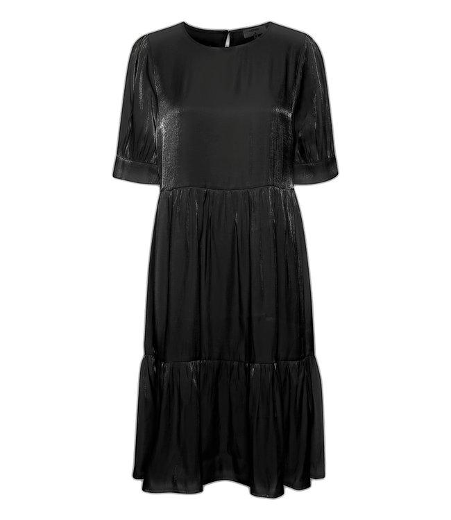 CRCecilie Dress - Pitch black
