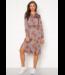 Object OBJAMELIA Shirt Dress - Gardenia AOP