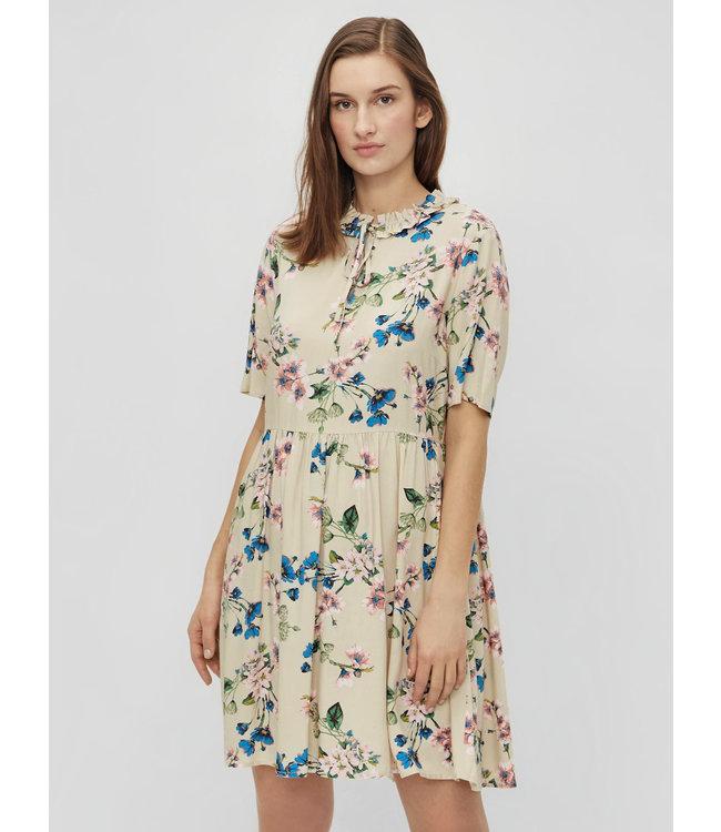 OBJPAREE Dress - Sandshell AOP