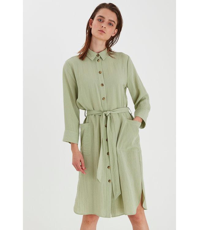 BYDELAN Shirt Dress - Swamp