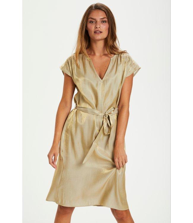 CRCallie Short Dress - Golden Beige