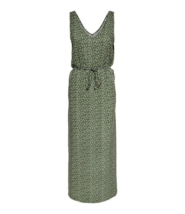 JDYSTAAR Life S/L Maxi Dress WVN - Beetle AOP / Cement Dots
