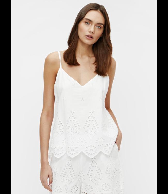 OBJLINI S/L Top  114 - Bright White