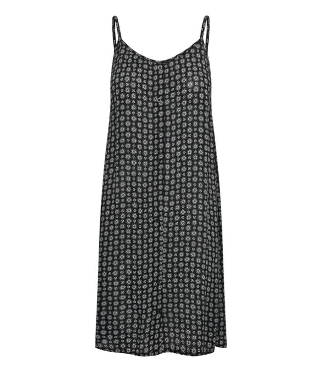 KAlera Amber Dress - Black / Chalk Small Graphic
