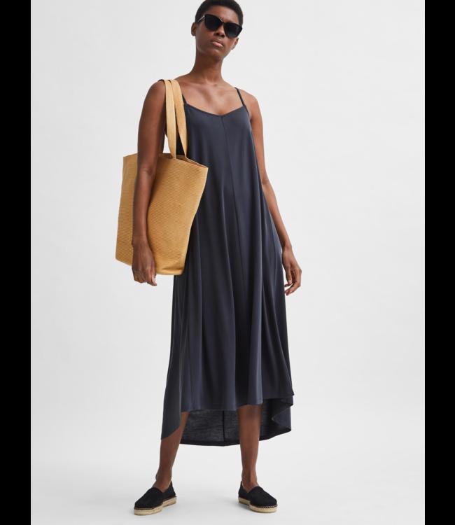 SLFFINIA Midi Strap Dress - Black