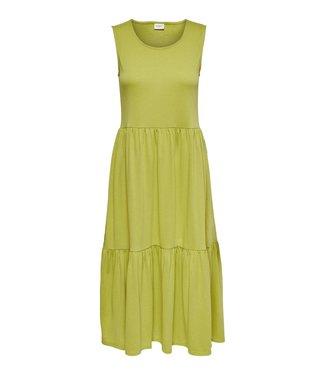 JACQUELINE de YONG JDYDALILA Life Frosty S/L Dress - Burnished Gold