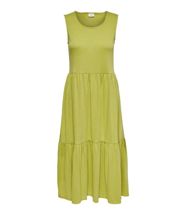 JDYDALILA Life Frosty S/L Dress - Burnished Gold