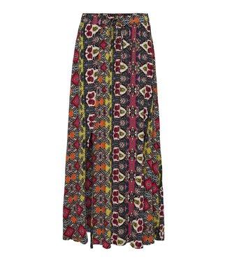 JACQUELINE de YONG JDYJAYA Life HW Maxi Skirt - Cloud Dancer VIBRANT IKAT