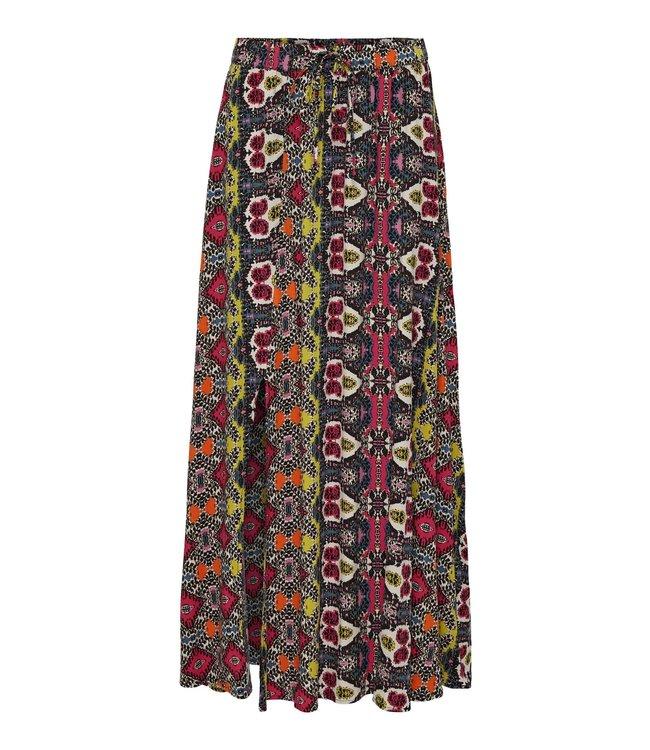 JDYJAYA Life HW Maxi Skirt - Cloud Dancer VIBRANT IKAT