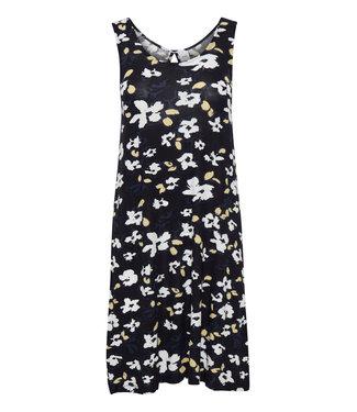 ICHI IHLISA Dress 11 - Black Print