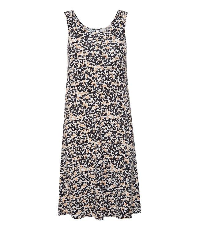 ICHI IHLISA Dress 11 - Tan