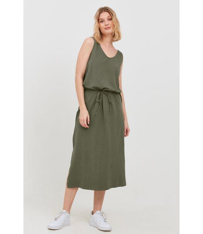 BYPANDINA Strap Dress Long - Olivine