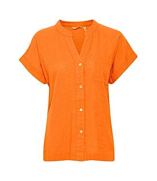 b.young BYHENRI SS Shirt - Nectarine