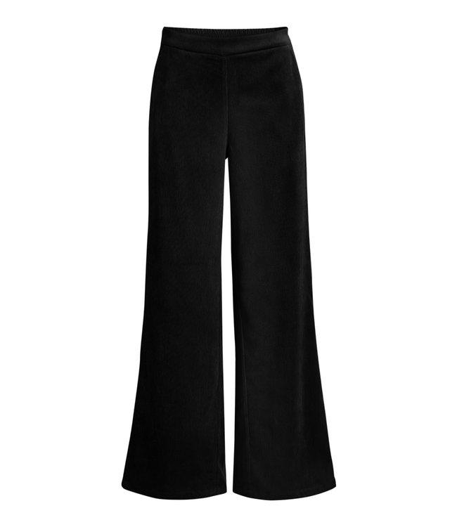 OBJELVA Wide Pant - Black