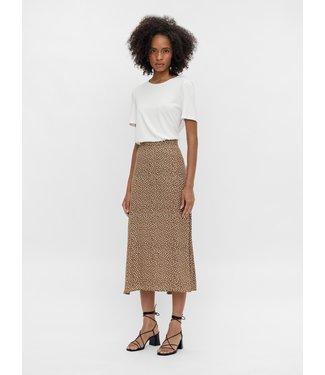 Object OBJBOBBIE HW Midi Skirt - Sepia