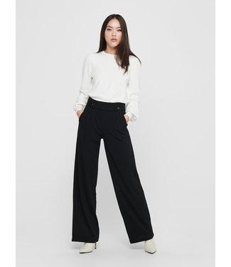 JACQUELINE de YONG JDYGEGGO NEW LONG PANT JRS NOOS  - Black